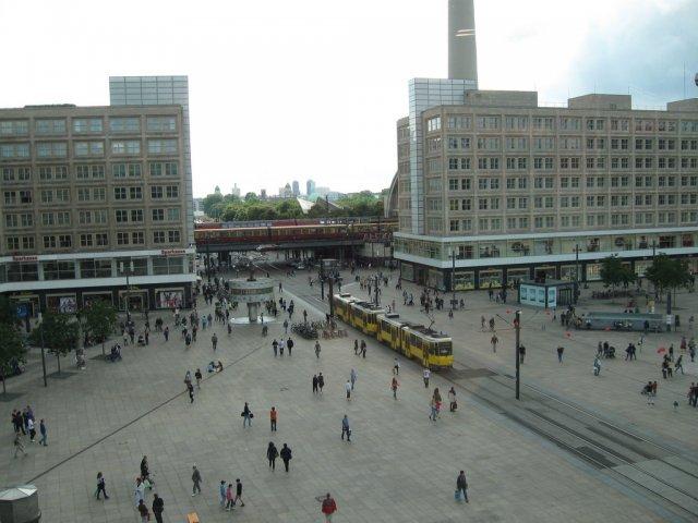 Площадь Александерплац, Берлин