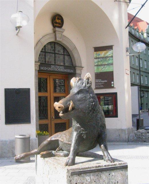 Бронзовый кабан, Мюнхен