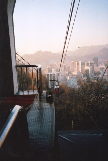 Фуникулер на горе Намсан, Сеул
