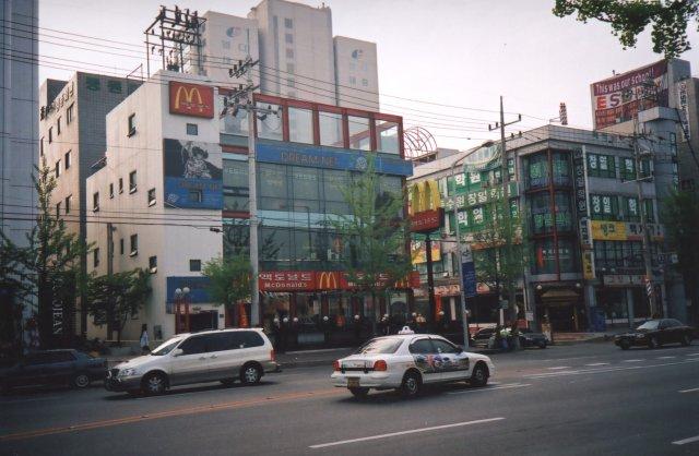 Улицы города Сувон