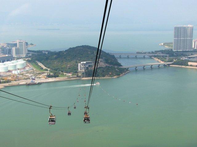 Канатная дорога Ngong Ping 360 Cable Car, Гонконг