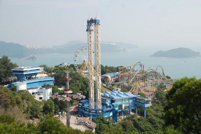 Ocean Park, Гонконг