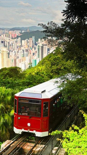 Peak Tram, Гонконг