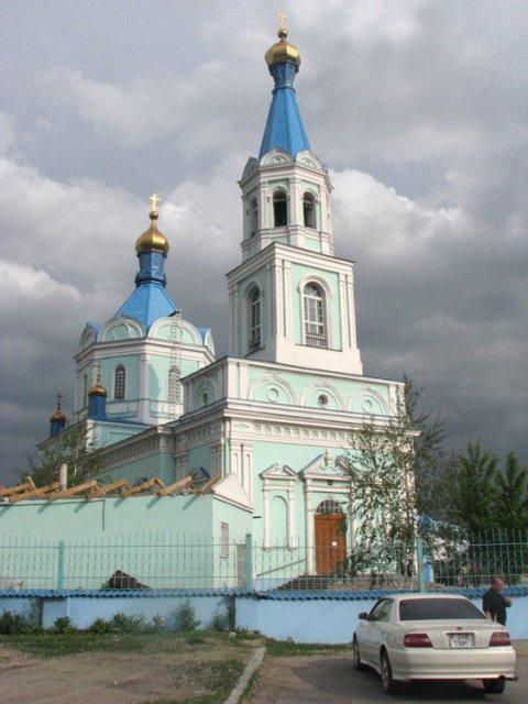 Воскресенский собор в городе Семей, Казахстан