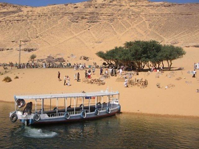 Пляж на Ниле, Египет