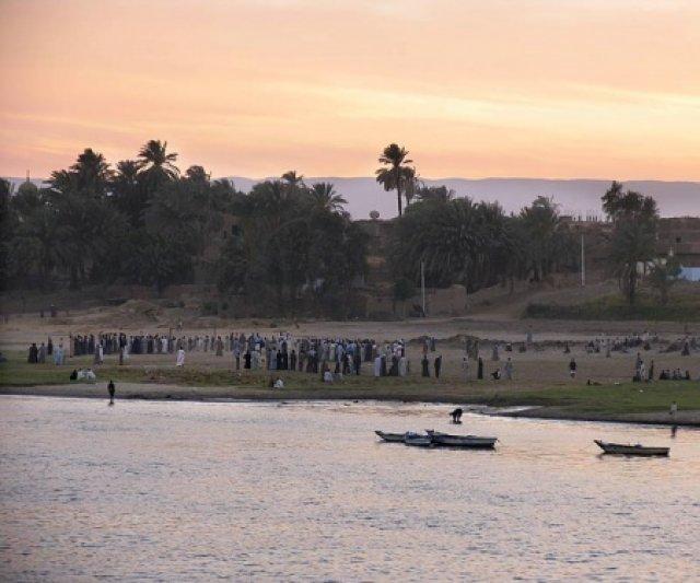 Закат на Ниле, Египет