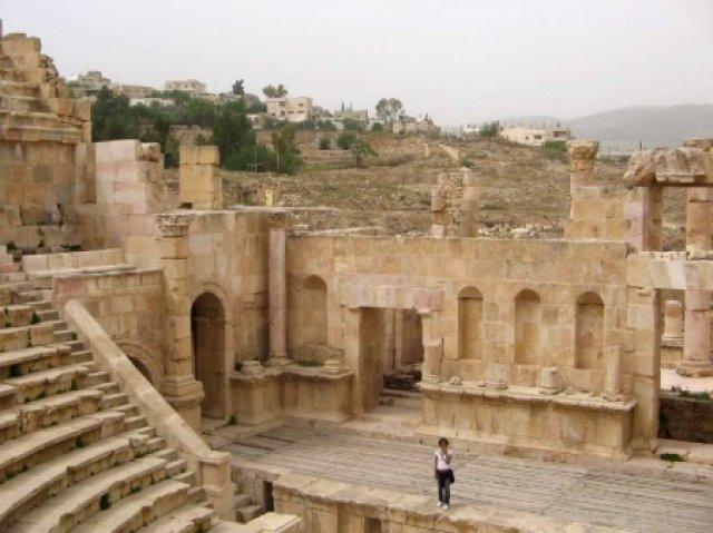 Театр в Джераше, Иордания