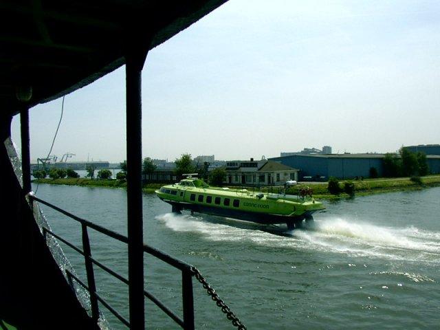"""""""Ракета""""-сделано в СССР до сих пор бороздят каналы Амстердама."""