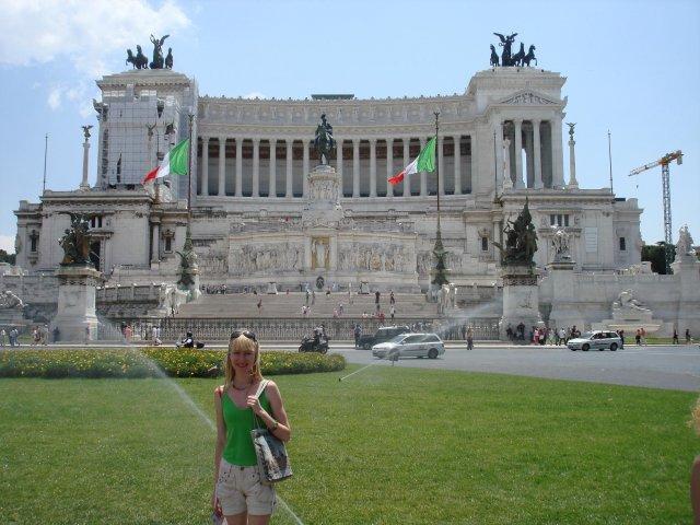 Памятник Виктору Эммануилу II (Витториано), Рим, Италия