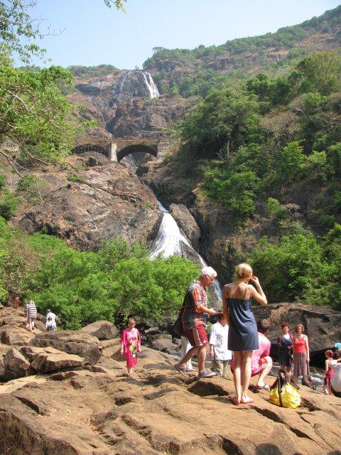 Экскурсия к водопаду, Индия