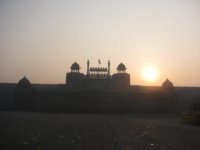 Лал-Кила (Красный Форт) в Дели, Индия