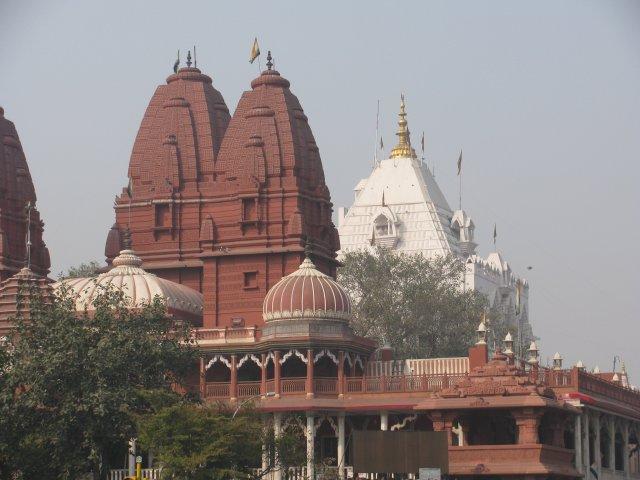 Храм в Дели, Индия