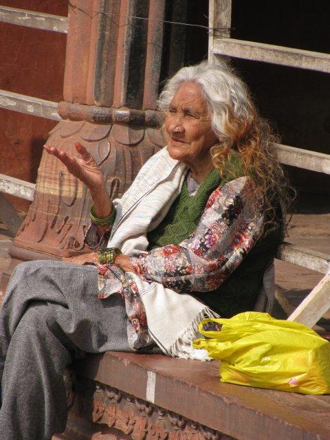 Местные жители в Дели, Индия