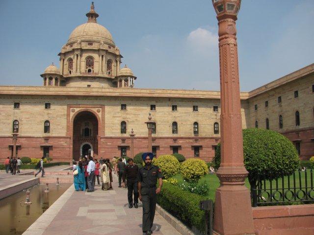 Проспект Раджапатх в Дели, Индия