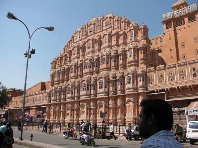 Городской дворец Хава Махал, Джайпур, Индия