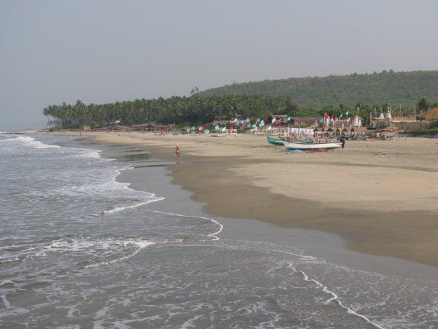 Пляж Марджим, Гоа, Индия