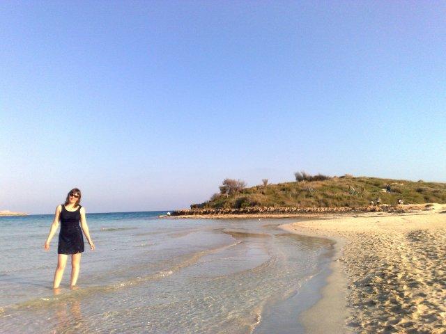 Пляж Нисси, пригород Aйя-Напа.