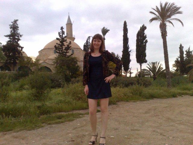 Мечеть Хала Султан Текке, возле ларнакского аэропорта.
