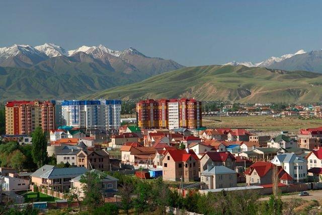 новостройки на Южной магистрали, Бишкек