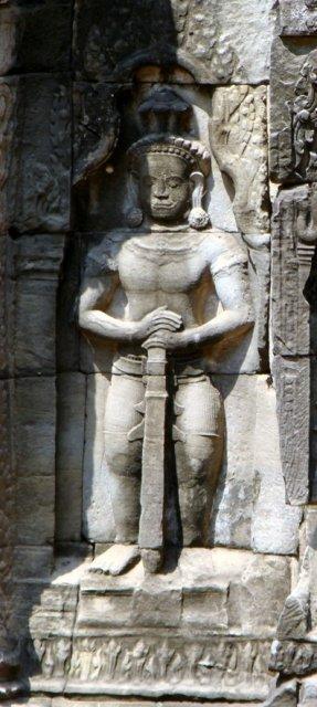 Ангкор. Пояс воина.