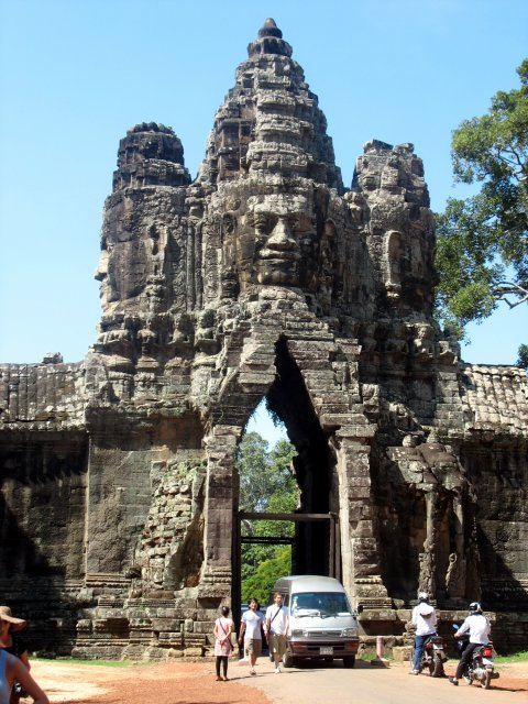 Ангкор Тхом. Ворота