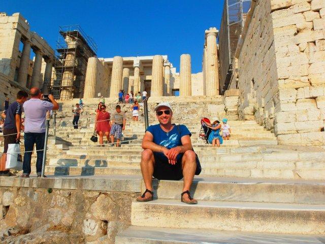 Акрополь, Афины. Греция.