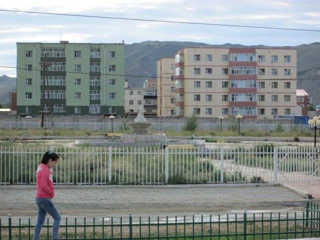 Микрорайон с жилыми домами