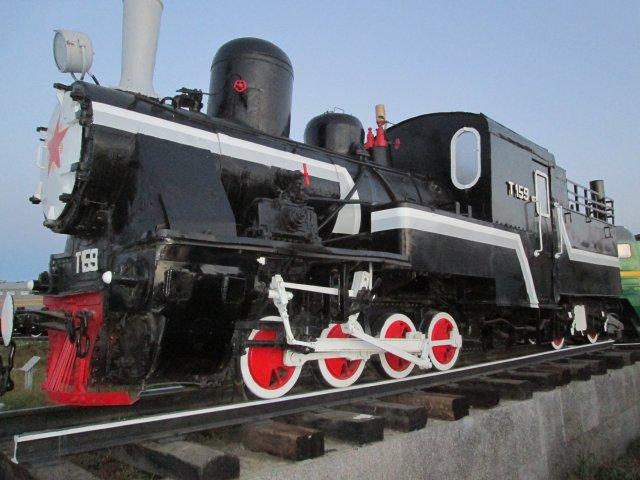 Экспонат в Музее железнодорожного транспорта