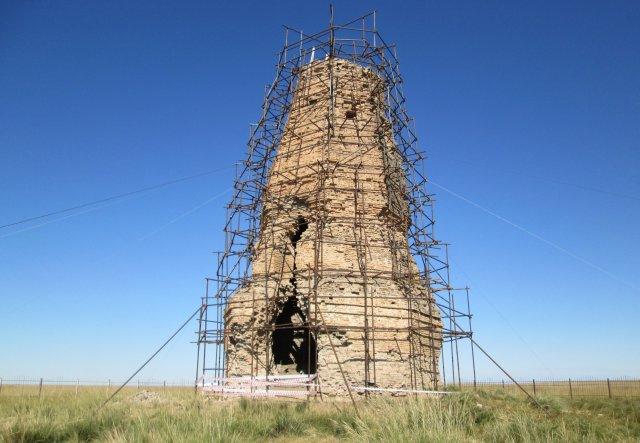 Оборонительная башня города Хэрленбарс, 9-й век