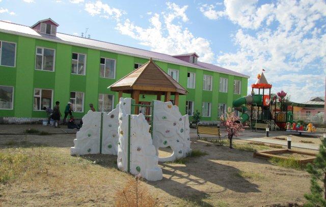 Детский сад в городе Чойбалсана