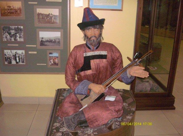 В краеведческом музее Агинского