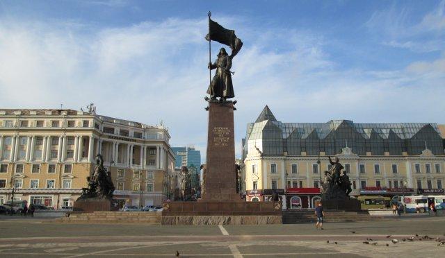 Памятник борцам за Советскую власть на Дальнем Востоке, 1917г.÷1922г.