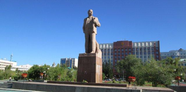 Памятник Ленину в Чите