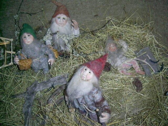 Экспонаты в музее рождественских традиций
