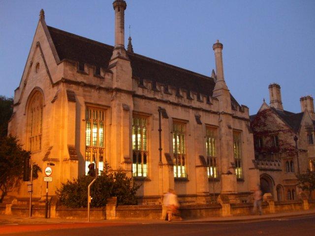 Вечерняя прогулка по Оксфорду