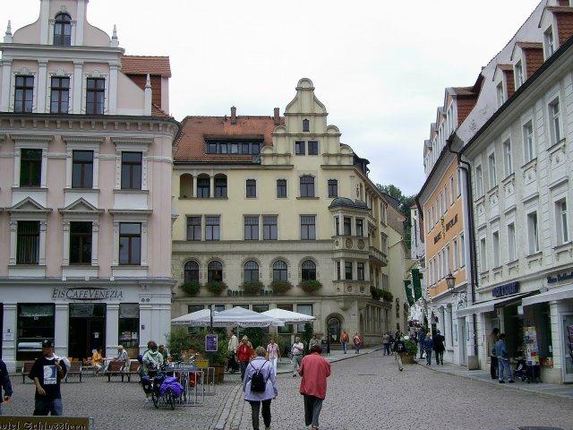 Прогулка по улицам и небольшим площадям Мейсена