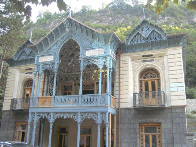Типичный дом в старом стиле