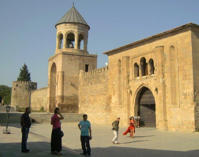 Монастырский комплекс с Патриаршим храмом Светицховели