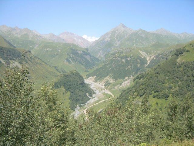 По дороге к Казбеку