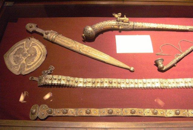 Экспонаты в музее Грузии