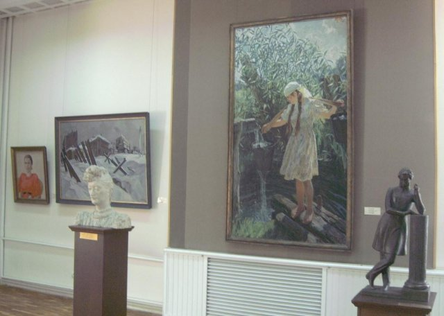 Картины в Национальной художественной галерее
