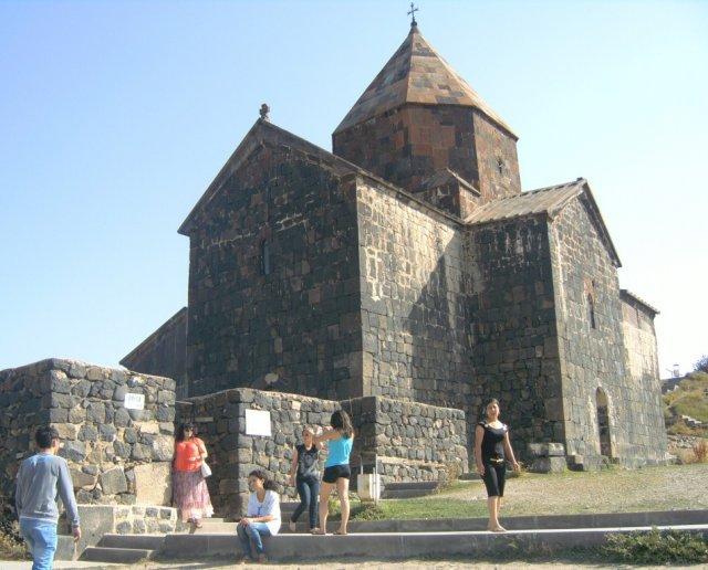 Монастырский комплекс Севанаванк