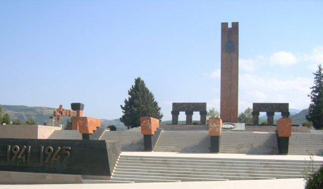 Мемориал погибшим во время войны 1941÷1945