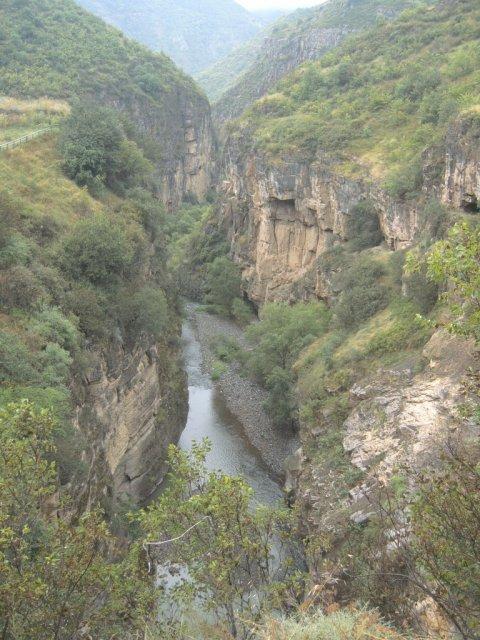 Каньон реки Воротан