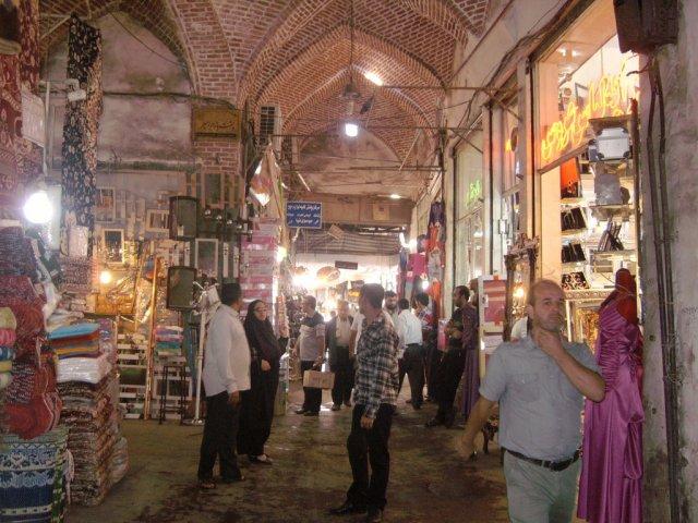 Рынок в Тебризе