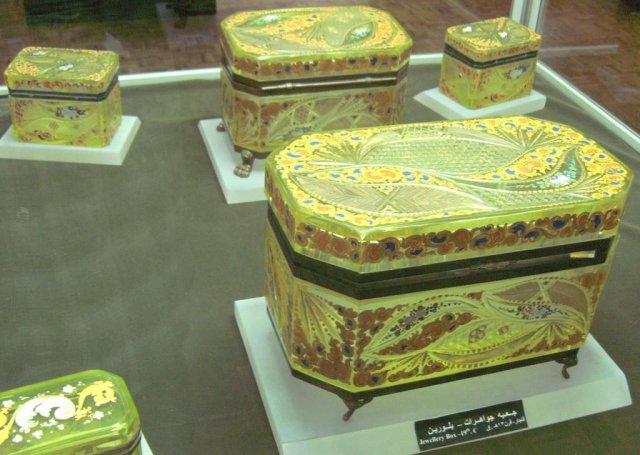 Экспонаты в Азербайджанском музее