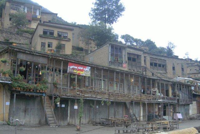Дома, разположенные на террасах, в Мазулехе