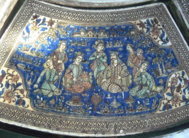 Фрагмент фарфоровой столешницы