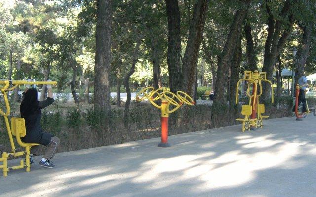 Парки с зонами для отдыха и спорта