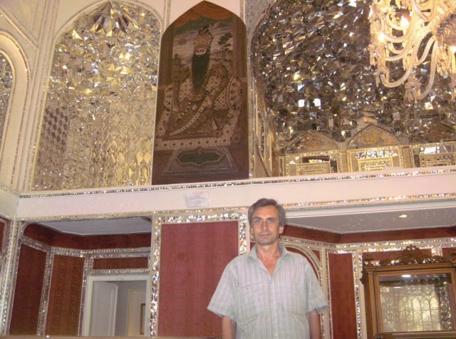 Автор в Алмазном зале